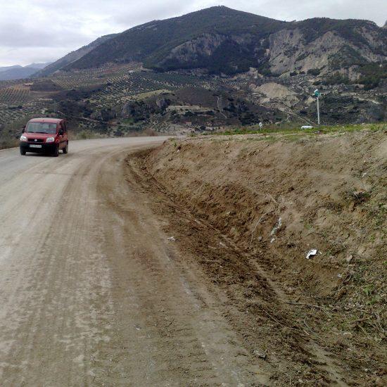 Carretera Colomera-Olivates